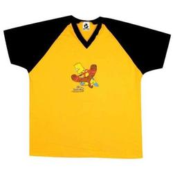 Simpsons - Mens Simpsons - Bart Soccer Jersey One Size Yello