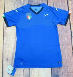 PUMA Small Italy FIGC World Cup Womens Soccer Football Jerse