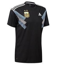 adidas Men's Soccer Argentina Away Jersey  2XL Black/Clear B