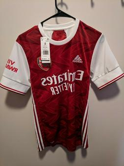 adidas soccer arsenal 20/21 home jersey adult small - new wi