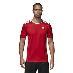 adidas Men's Soccer Entrada 18 Jersey, Power Red/White, Larg