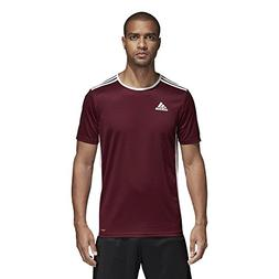 adidas Men's Soccer Entrada 18 Jersey, Maroon/White, Large