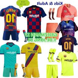 Soccer Football Outfit Kids Adult Club Jerseys Strips Christ