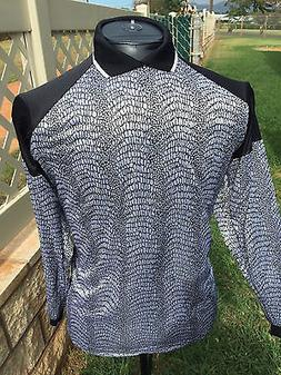 96ef5109f0d Soccer Goal keeper Jersey New With Tags Adult -XL Silver
