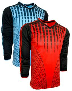 Soccer Goalkeeper Jersey, Goalie Long Sleeve Shirt For Kids