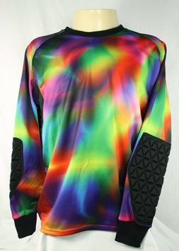 Brava Soccer Goalkeeper Jersey Multicolor Rainbow Adult Size
