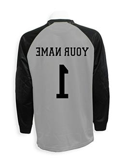 286c401753d Soccer goalkeeper jersey personalized with your name and num