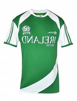Croker Soccer Shirt Ireland Drifit Men's Irish Green White J