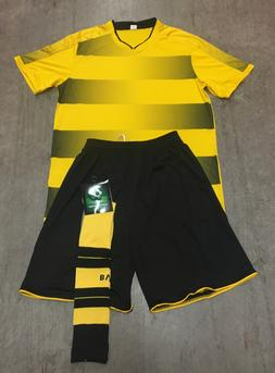 Soccer Team Uniform Sets $19 each Yellow/Black Jersey+Shorts