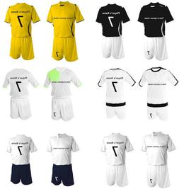 Soccer Uniform Sets $25 each Jersey+Names+Numbers+Shorts wit