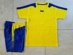 Soccer Uniforms:$18 each Jerseys with numbers only and short