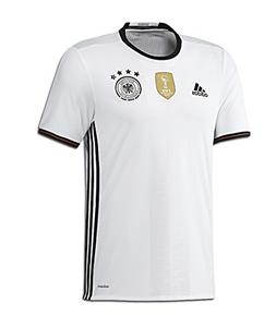 adidas Soccer Youth Germany Jersey, Medium, White/Black
