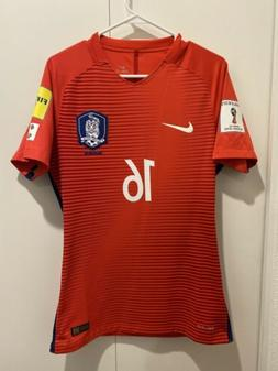 Nike South Korea 2016-2018 Player Issued Home Soccer Jersey