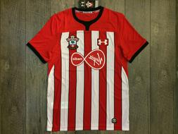 Under Armour Southampton FC EPL Soccer Jersey Mens Size Larg