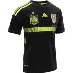 adidas Kids' Spain Away Short-Sleeve Soccer Jersey - Size: M