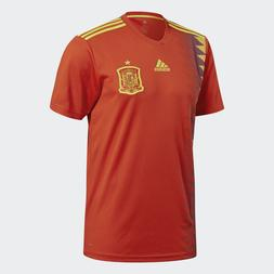 adidas Spain Home Soccer Jersey CX5355 Men's Size Medium Red
