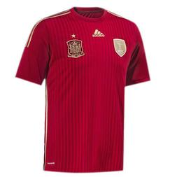 Adidas Spain International Mens Home Football Soccer Shirt J