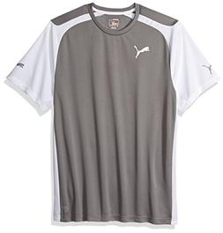 Puma Men's Speed Jersey, X-Large, Steel Gray