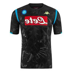 Kappa SSC Napoli Champion's League Replica Away Black Shirt