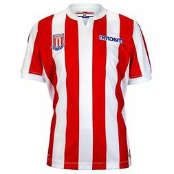 Macron Stoke City Home Jersey 2018 2019 Juniors Red/White Fo