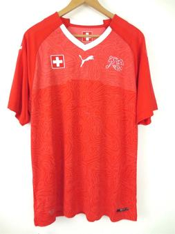 PUMA Suisse Switzerland 18/19 Jersey WC 2018 752478-01 Socce