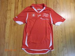 Switzerland 2010/11 National Team Puma Soccer Futbol Jersey