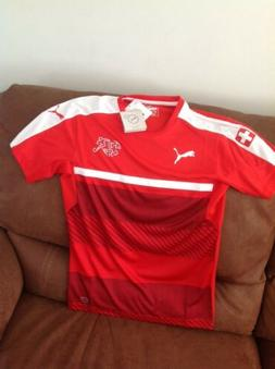puma switzerland National Team  soccer jersey NWT size Small