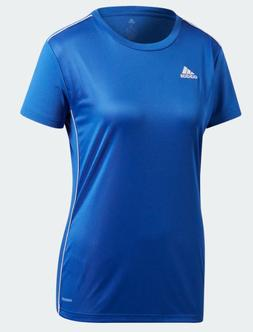 Adidas T Shirt Womens XS to XL Blue Authentic Core18 Climali