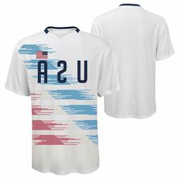 Team USA Youth Girls Soccer Officially Licensed  S/S Sublima