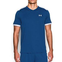 Under Armour Men's Threadborne Match Jersey, Royal /White, M