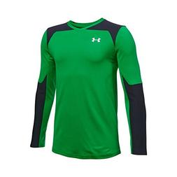 Under Armour Boys' Threadborne Wall Goalkeeper Jersey, Putti