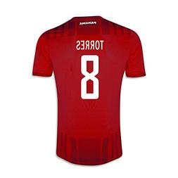 Torres #8 Panama Home Soccer Jersey Gold Cup 2015