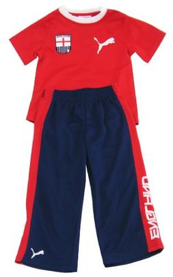 Puma Boys Two-piece Country Soccer Shirt and Pants