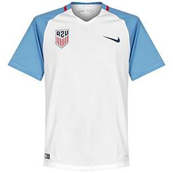 Nike Men's U.S. Stadium Top White/Game Royal/Midnight Navy S