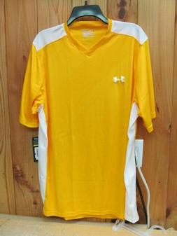 Under Armour UA Fixture Soccer Jersey XL Steeltown Gold