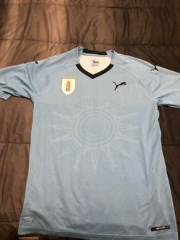 Puma Uruguay 2018 Soccer Stadium Home Jersey World Cup Size