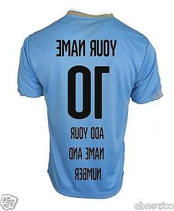 Uruguay National Soccer Training Jersey S-M-L-XL- Adults and