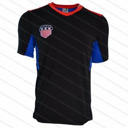 USA National Team Flag Soccer Jersey Adult Sports United Sat