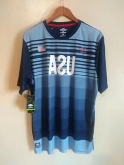 USA UMBRO United States Soccer Jersey Shirt Mens Size XL
