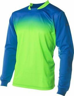 Vizari Vallejo Goalkeeper Jersey, Royal/Neon Green, Size You