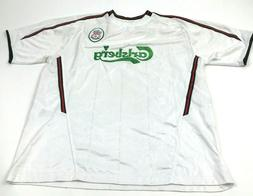 VINTAGE Liverpool Soccer Jersey Size Large L Adult White Dry