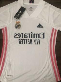 Women's Real Madrid Soccer Jersey, Away 20-21, Size S