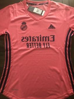Women's Real Madrid Soccer Jersey, Away 20-21, Size M