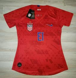 WORLD CUP CHAMPIONS #13 ALEX MORGAN WOMENS RED NIKE 4 STAR S