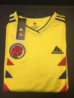 XL Adidas 2018 Soccer World Cup Colombia Men's Home Short Sl