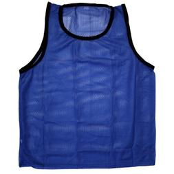 BlueDot Trading Youth Blue sports pinnie scrimmage training