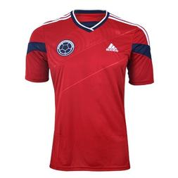 YOUTH Adidas Colombia Away 2014 Replica Soccer Jersey Power
