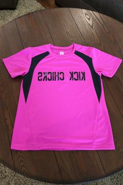 youth girls adorable pink soccer team jerseys set of 15