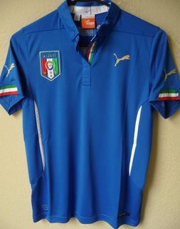 Youth PUMA Italy National Team Football Home Replica Soccer