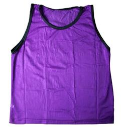 BlueDot Trading Youth Purple sports pinnie scrimmage trainin